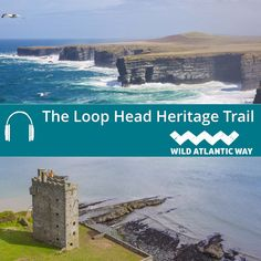 Loop Head Heritage Trail is a true highlight of the Wild Atlantic Way. It helps you to discover stunning scenery and fascinating heritage, as you hear the authentic stories of Life on the Loop County Clare, Railway Museum, Historical Sites, Tour Guide, Beautiful Landscapes, Autism, Highlight, Travelling, Ireland