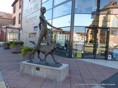 Sarrebourg(57)-Parcours des sculptures!