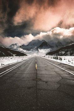 banshy:  Icefields Parkway // Thomas Hill