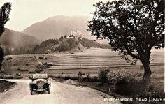 Podarený historický záber. Hrad Likava je najväčším hradom Liptova a jeho hlavnou úlohou bolo strážiť dôležitú cestu z Považia na Oravu a do Poľska. Viac info na: http://ift.tt/2tKci4h  Ďalšie historické zábery nájdete aj na linku: Slovensko na historickych fotografiach