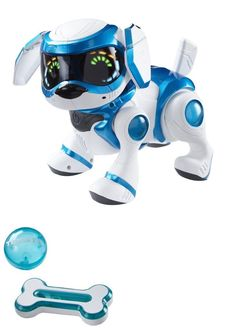 iDog iCat and iFish 119394: Tekno Robotic Puppy With Bone And Ball Toys Electronic Dog Programmable Interacts -> BUY IT NOW ONLY: $72.85 on eBay!