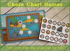 Chore Chart Games Giveaway - 3 Winners! Turn Chore Time into Game Time for Kids! - Viva Veltoro