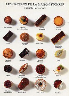 Les gâteaux de la Maison Stohrer / French Patisseries (Nouvelles Images, France) by katya., via Flickr