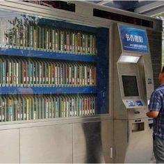 Book vending machine Re-pinned by: http://sunnydaypublishing.com