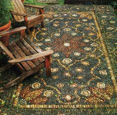 Persian Carpet Mosaic By Jeffrey Bale