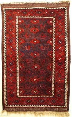 Superb antique Khorassan Baluch with 12 peacocks in perfect condition ca 1890. All wool and natural dyes original kelim finishes and goat hair selvedges just hand washed amazing condition with no repairs. Saturated  ...