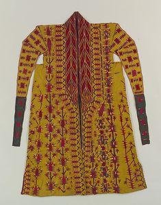 Túnica Turkmenistan. 1ª meitat segle XIX. The Metropolitan Museum of Art