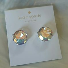 NWT kate spade large crystal studs NWT kate spade large crystal studs kate spade Jewelry Earrings