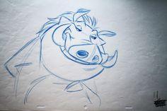 Lion king original drawing