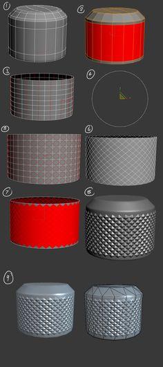 Thomas R W Butters Blog: 3ds Max Diamond Pattern Tutorial