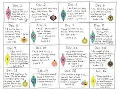 Advent Calendar Ideas