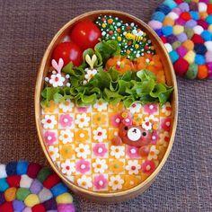 レシピ レシピ in 2020 Bento Box Lunch For Kids, Bento Kids, Adult Lunch Box, Fun Snacks For Kids, Kids Meals, Japanese Food Art, Japanese Lunch Box, Japanese Sweets, Cute Bento