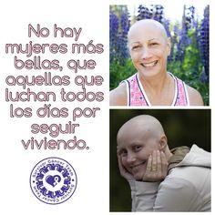 Nuestro reconocimiento para esas mujeres que luchan contra el #Cancer.