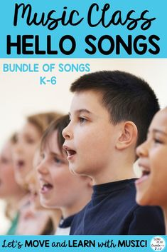 """Music Class starts with a Hello Song. """"Hello, Hello Good Morning, Afternoon"""" is the perfect song to get your students transitioned into music class. VIDEO with vocal and practice tracks to help you teach your students how to move and sing together. Singing Lessons, Music Lessons, Singing Tips, Preschool Music Activities, Class Activities, Kindergarten Music, Hello Good Morning, Welcome Songs, Music Sing"""