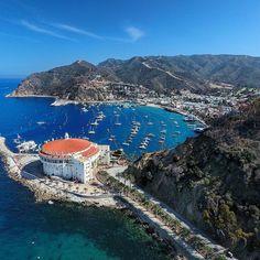Catalina island Avalon casino #avalon #catalina #catalinaisland #dji #phantom #phantom4 #gopro #aerial #ocean #sailboat #california #cali #drone #drones #dronelife #droneporn #dronestagram #photo #photooftheday by john.rich.1