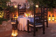 Evening Dining at at La Sultana, #Marrakech