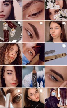 Instagram Eyebrows, Instagram Makeup, Insta Makeup, Instagram Feed Ideas Posts, Feeds Instagram, Brow Studio, Eyebrow Design, Art Visage, Natural Brows
