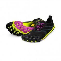 the best attitude 2270d 2c7a8 Bikila Evo - Womens (Black Yellow Magenta) Finger Shoes, Road Running