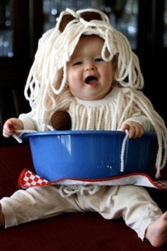 Spaghetti and Meatballs Baby Costume