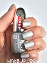 Pupa 030 Holographic Silver #makeup #trucco #smalto #nail #nails #nailart #nailpolish #review #beauty #beautyblogger #nailmania