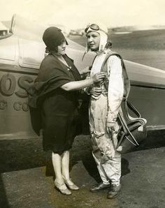 aviatrix, 1929, 15 years old,