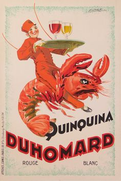 Vintage advertising | Quinquina Duhomard