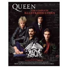 Queen - Queen: The Complete Illustrated Lyrics I want this!!!!!