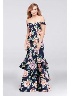 8ca76ff6e78600 Long Mermaid/ Trumpet Off the Shoulder Formal Dresses Dress - Sequin Hearts Trumpet  Gown,
