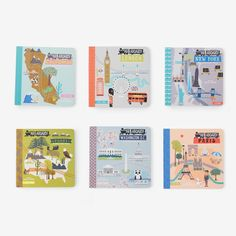 Every area of the world can be mapped out for adventure, and brilliant babies love the sophistication of traveling by train. This new board book series written by the husband and wife team of Haily an
