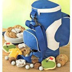 Cookies and Treats Golf Bag Gift Basket
