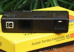 Vintage Kodak Trimlite Instamatic 18 110 Film Camera Set