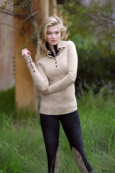 Yeah, so I'm digging the idea of breeches (or are these jodhpurs?). Probably the part of me that's always wanted to be an equestrian rider. Also, is that sweater not to-die-for?