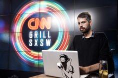 DJ setting the mood // photo via Edward M. Pio Roda at CNN