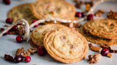 Cookies with chocolate and pecans - Ida Gran-Jansen Skillet Cookie, Pecan Cookies, Christmas 2017, Shortbread, Biscotti, Pecans, Chocolate, Baking, Desserts