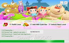Candy Crush Soda Saga Hack | Games Hooks