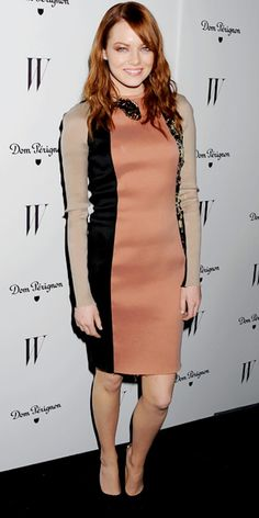 Look of the Day - January 17, 2012 - Emma Stone in Lanvin from #InStyle
