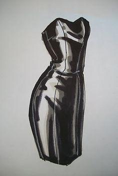 Fashion Illustration for Designers & Illustrators: Marker Demo - Leather
