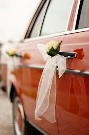 wedding car- fresh flower arrangement - Google Search