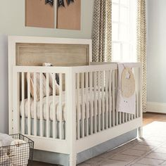 Marsonne Convertible Crib from PoshTots Buy with Crib mattress: (still must choose 1 out of 3 options available on board???????????)  Registry 1