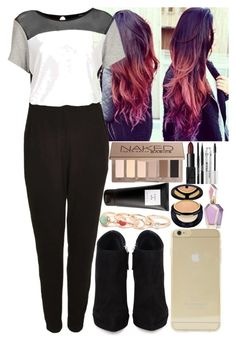 """""""Sem título #620"""" by raquelsilva-967 ❤ liked on Polyvore featuring Topshop, Giuseppe Zanotti, Sonix, NARS Cosmetics, Eight & Bob, Stila, Urban Decay, Estée Lauder and With Love From CA"""
