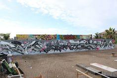 Persue x Ewok x Trav x Kem5 New Mural @ California, USA