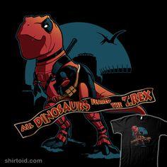 DeadRex #comic #comics #deadpool #film #jurassicpark #marvelcomics #movie #rebelart #trex #tyrannosaurusrex