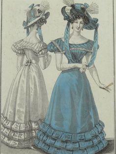 Costume Parisien ca 1826