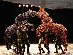 War Horse. One of the few plays I've seen that made the *entire* audience weep.