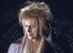 Jareth listing to hoggle David Bowie Labyrinth, Labyrinth 1986, Labyrinth Movie, Jareth Labyrinth, Goblin King, Jennifer Connelly, Labyrinth Goblins, Christina Rossetti, Labrynth