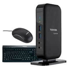 Toshiba dynadock® V3.0 USB 3.0 Docking Station Value Bundle