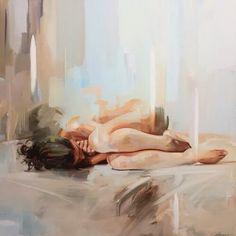 искусство, художники, кровать, нарисованное, рисунок, девушка, хипстер, инди, жизнь, грустно, печаль, подростковое