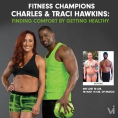 Fitness Champions Charles & Traci Hawkins: Finding Comfort by Getting Healthy | ViSalus BlogViSalus Blog