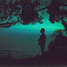 evening, silence, sea.