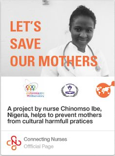 """""""Let's save our mothers"""": exceptional nursing initiative for health education.  #education #care #nurse"""